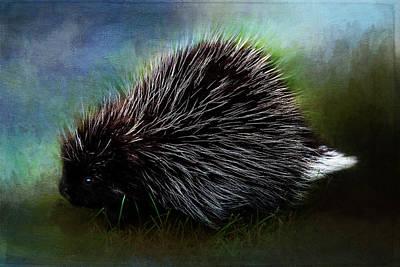 Painting - Porcupine by Christina VanGinkel