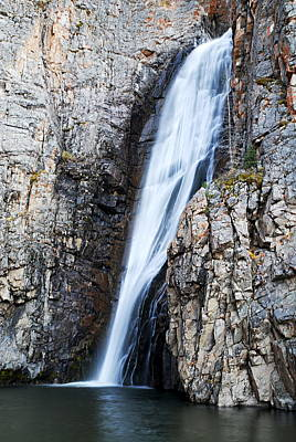 Photograph - Porcupine Falls by Larry Ricker