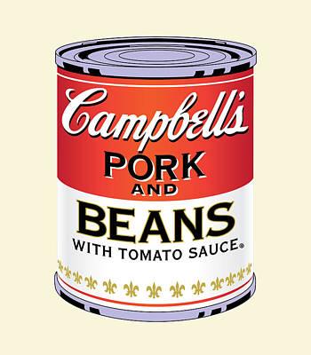 Digital Art - Pork And Beans by Gary Grayson