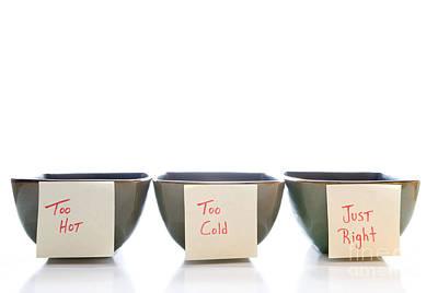 Porridge Bowl Photograph - Porridge Bowls by Rob Byron