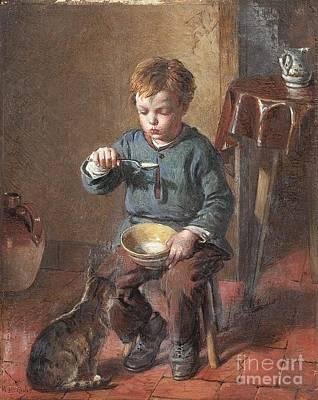 Porridge Art Print