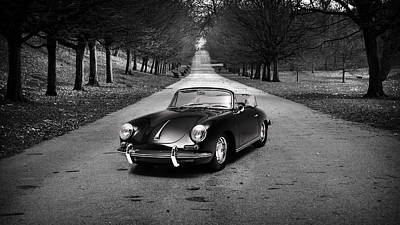 Supercar Photograph - Porsche 356 1965 by Mark Rogan