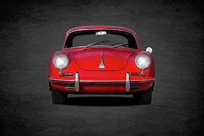 Vintage Car Photograph - Porsche 356 by Mark Rogan