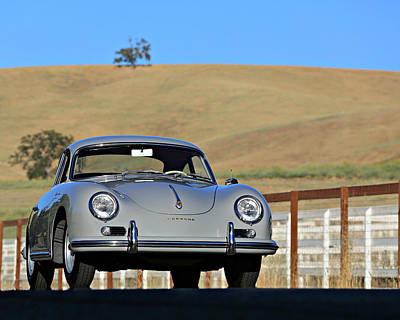 Photograph - Porsche 356a European by Steve Natale