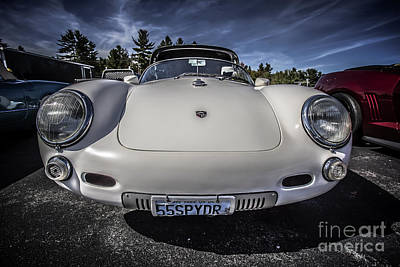 Lebanon Photograph - P 550 Spyder Sports Car by Edward Fielding