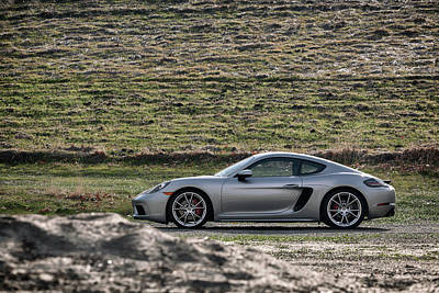 Photograph - #porsche #718cayman S #print by ItzKirb Photography