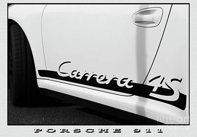 Photograph - Porsche 9 by Wendy Wilton