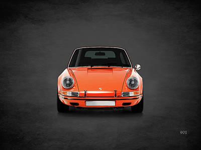 Photograph - Porsche 901 by Mark Rogan