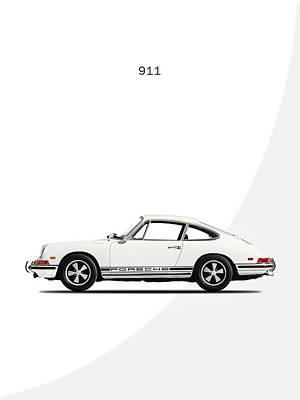 Wall Art - Photograph - Porsche 911 68 by Mark Rogan