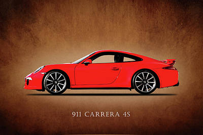 Wall Art - Photograph - Porsche 911 Carrera 4s by Mark Rogan