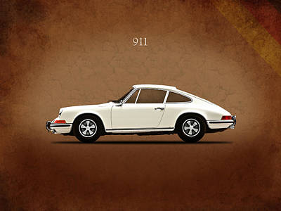 Photograph - Porsche 911 E by Mark Rogan