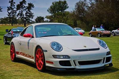 Gt3 Rs Photograph - Porsche 911 Gt3 Rs  by Gary Dance