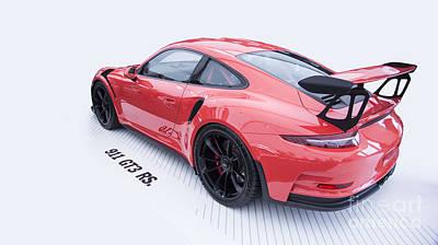 Gt3 Rs Photograph - Porsche 911 Gt3 Rs by Roger Lighterness
