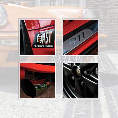 912 Digital Art - Porsche 911 In Detail by 2bhappy4ever