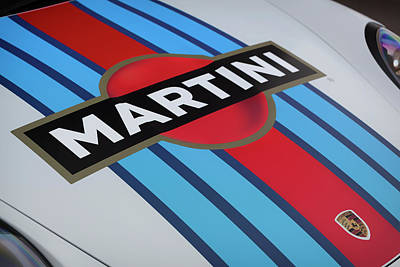 Photograph - #porsche 911 #martini #gt3rs #print by ItzKirb Photography