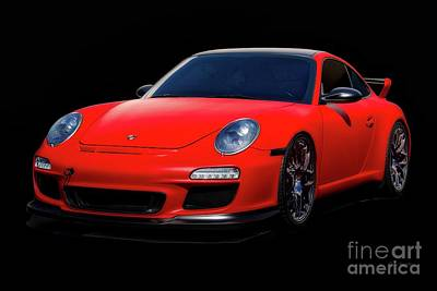 Fireworks - Porsche 911 Satin Turbo by Dave Koontz