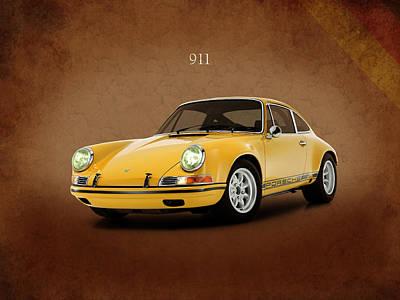 Photograph - Porsche 911 St 1970 by Mark Rogan