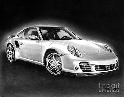 Porsche 911 Turbo    Print by Peter Piatt