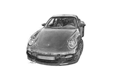 Porsche 911 Turbo Original by Gabor Vida