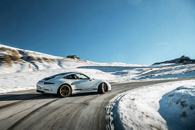 Photograph - Porsche 911r Powerslide by George Williams