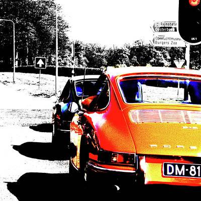 912 Photograph - Porsche 912 by 2bhappy4ever