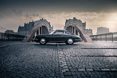 912 Photograph - Porsche 912 by Tom Bambot