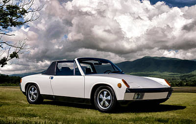 Automotive Digital Art - Porsche 914 by Douglas Pittman