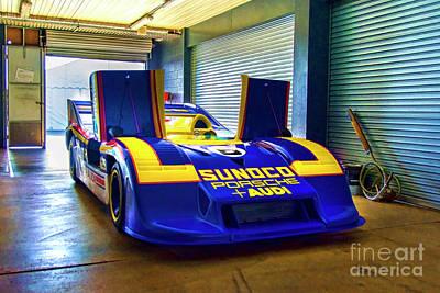 Photograph - Porsche 917/30 Front View by Stuart Row