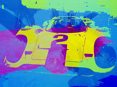 Racing Painting - Porsche 917 Front End by Naxart Studio