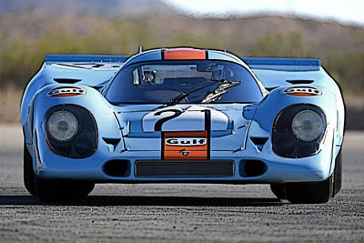 Porsche 917 Shorttail Art Print