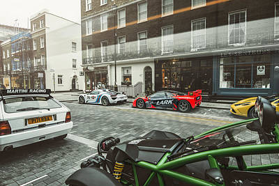 Photograph - Porsche 918 Mclaren F1 Gtr Ferrari Specialea Ariel Nomad And Lancia Delta Integrale by George Williams