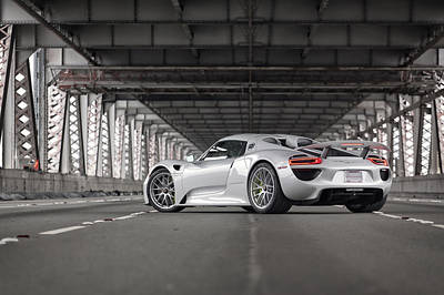 Photograph - Porsche 918 Spyder by ItzKirb Photography
