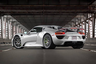 Photograph - #porsche #918spyder #print by ItzKirb Photography