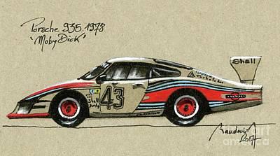 Porsche 935 Moby Dick Original