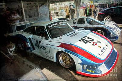 Porsche 935 Moby Dick Art Print