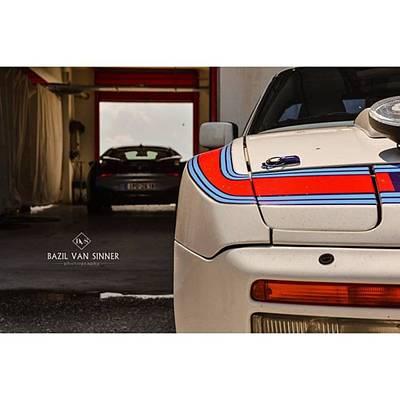 Martini Photograph - #porsche #944 #martini #stripes #bmw by Bazil Van Sinner