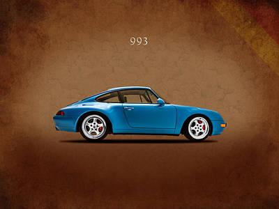 Classic Porsche 911 Photograph - Porsche 993 1998 by Mark Rogan