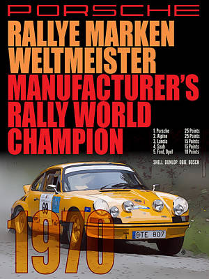 Digital Art - Porsche At Weltmeister by Gary Grayson