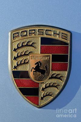 Porsche Photograph - Porsche Badge by George Atsametakis