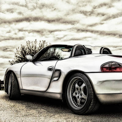 Photograph - Porsche Boxster by 2bhappy4ever