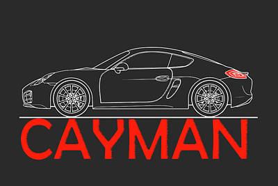 Photograph - Porsche Cayman Phone Case by Mark Rogan
