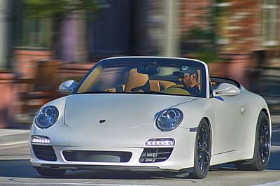 Photograph - Porsche Convertible by Bill Dutting