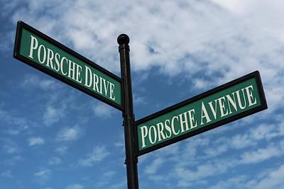 Photograph - Porsche Crossroads by Willie Harper