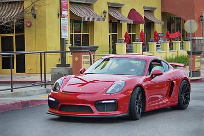 Photograph - Porsche G T 4 by Bill Dutting