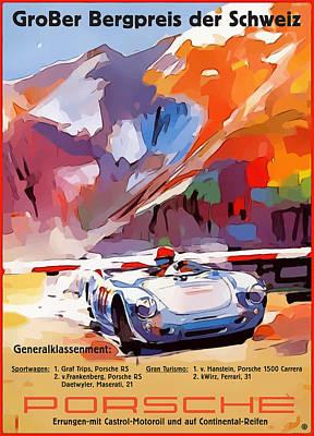 Digital Art - Porsche Gorber by Gary Grayson