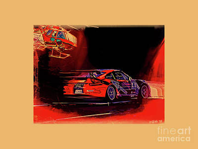 Photograph - Porsche Gt Cota by Tom Griffithe