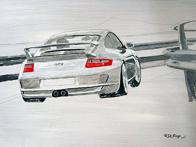 Porsche Gt3 Art Print