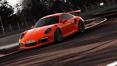 Photograph - Porsche Gt3 Rs  by Andrea Mazzocchetti