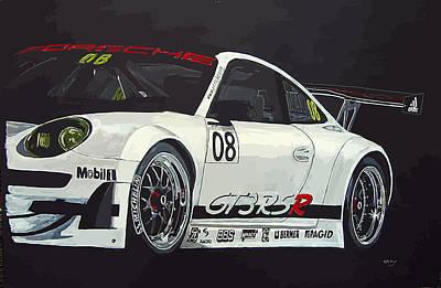 Porsche Gt3 Rsr Art Print