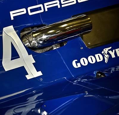 Photograph - Porsche Indy Car 21167 2020 by Jerry Sodorff